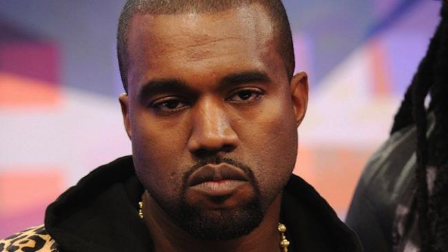 Kanye-angry