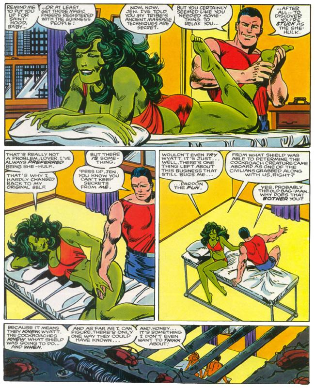 Incredible hulk sex adult comic
