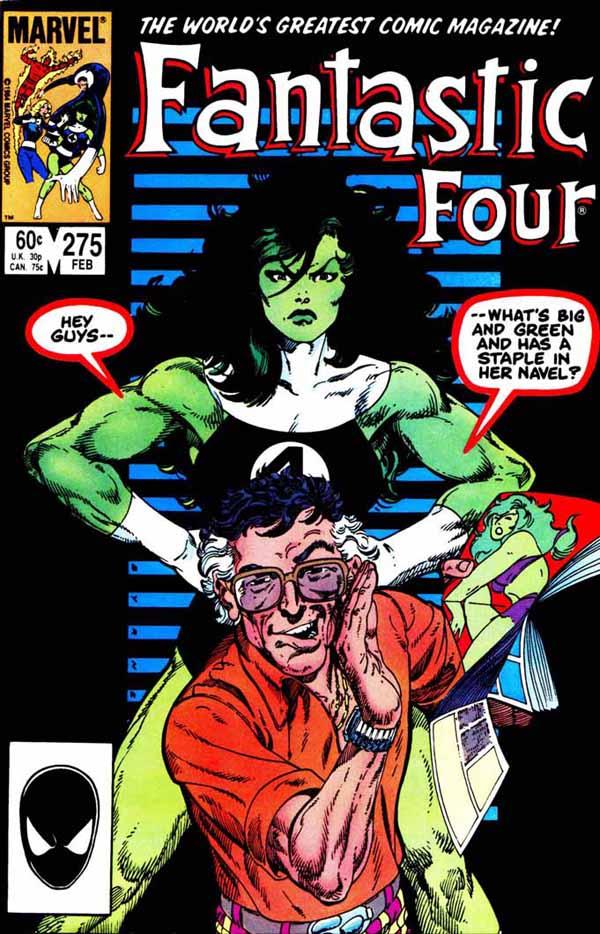 Fantastic Four _275B by John Byrne 1985