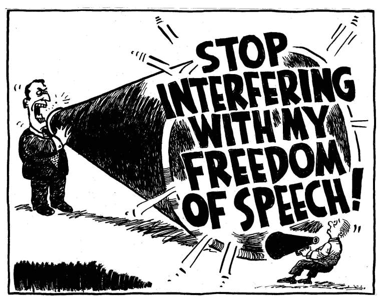 freedom-of-speech-megaphone